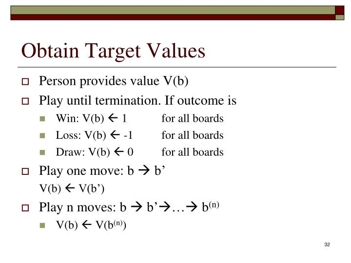 Obtain Target Values