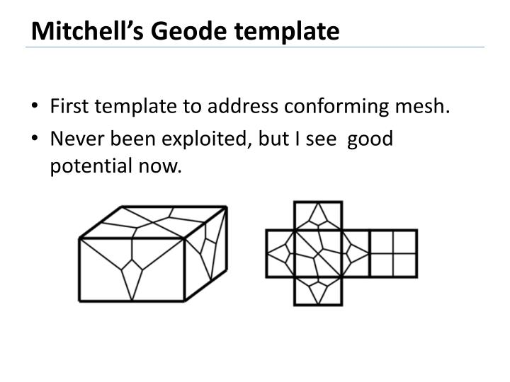 Mitchell's Geode template