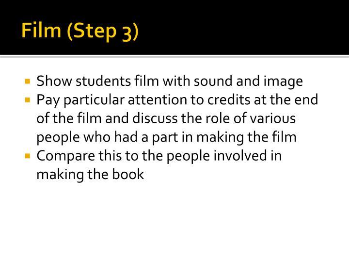 Film (Step 3)