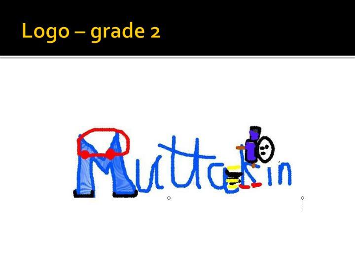 Logo – grade 2