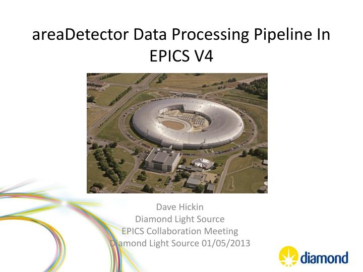 A readetector data processing pipeline in epics v4