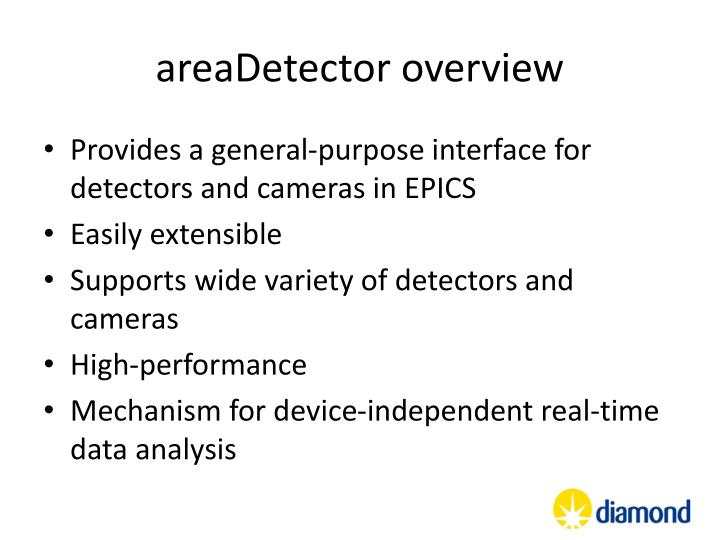 areaDetector overview