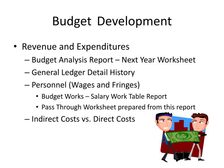 BudgetDevelopment