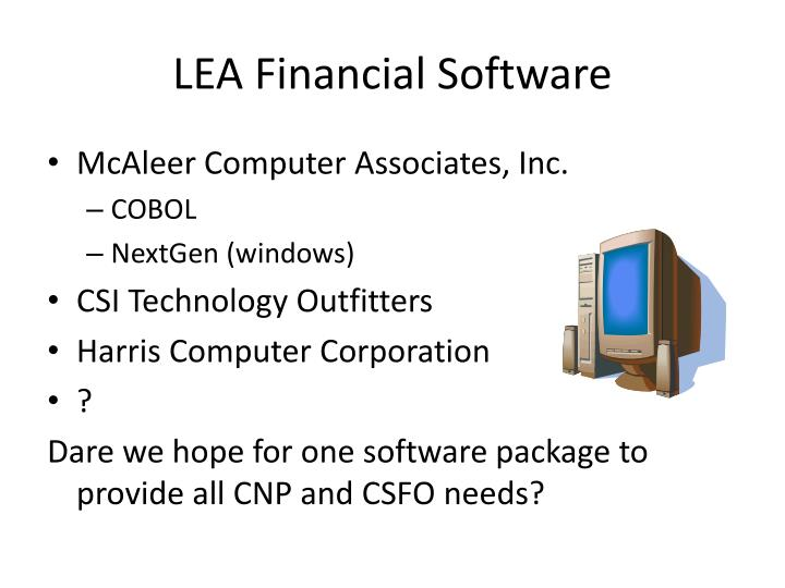 LEA Financial Software