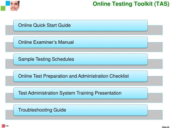Online Testing Toolkit