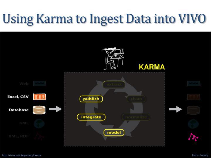 Using Karma to Ingest Data into VIVO
