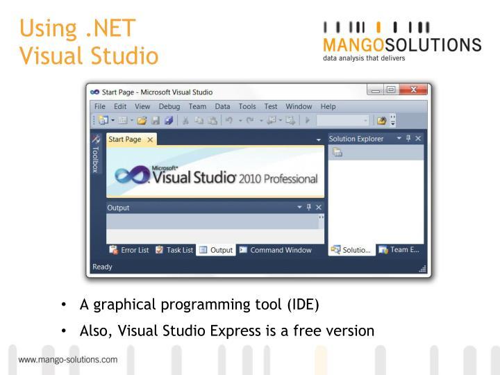 Using .NET