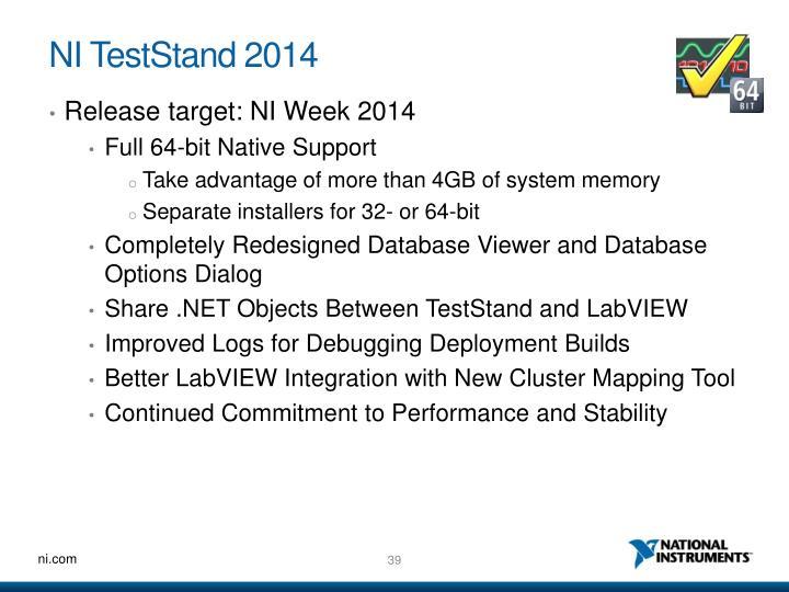 NI TestStand 2014