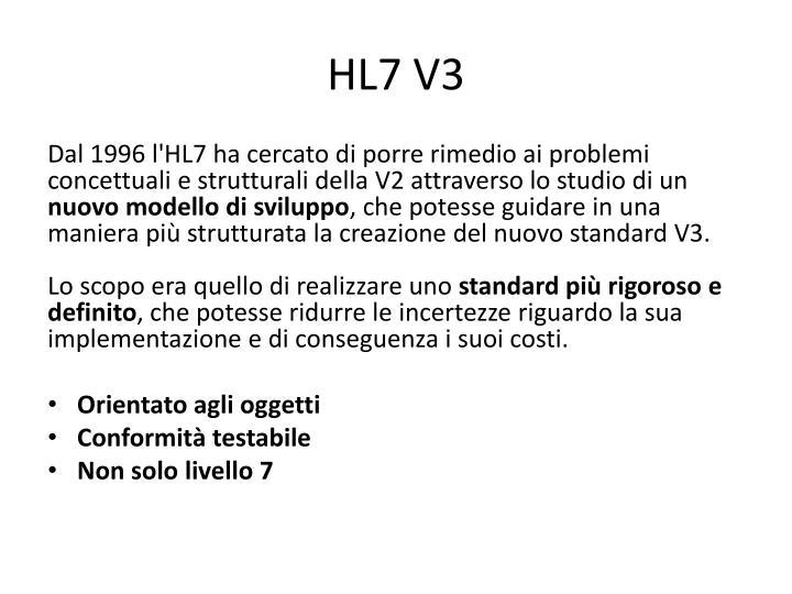 HL7 V3