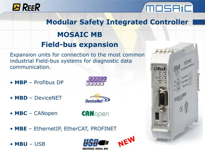 Modular Safety Integrated Controller