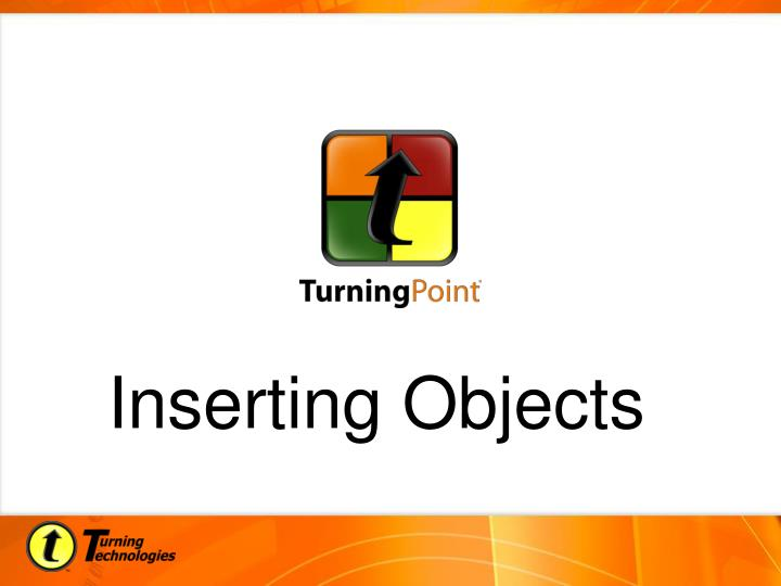 Inserting Objects