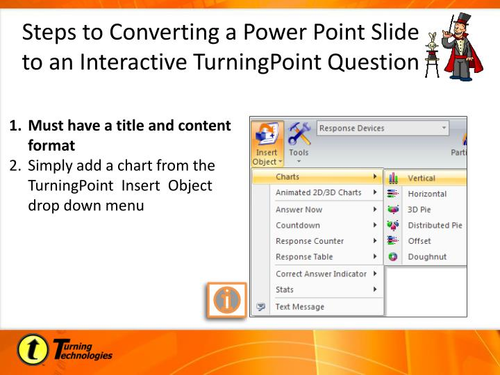 Steps to Converting a Power Point Slide