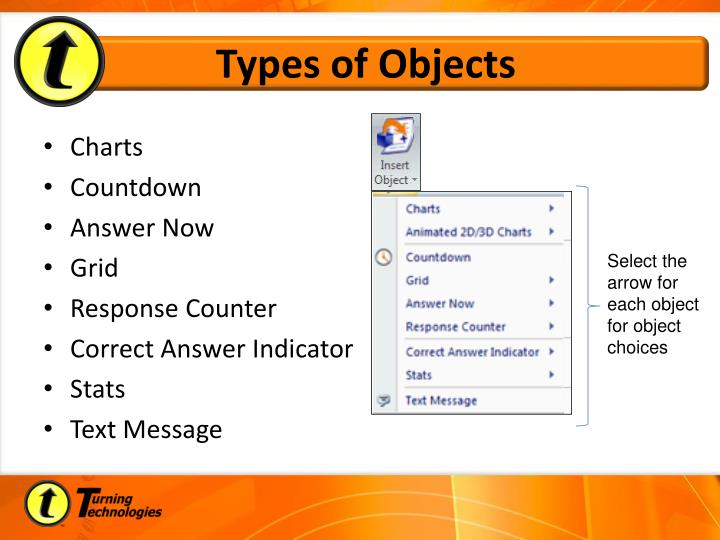Types of Objects
