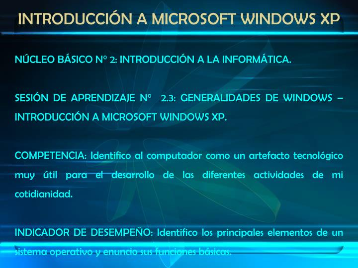 Introducci n a microsoft windows xp1