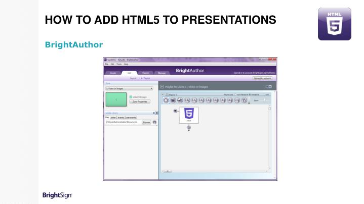 How to Add HTML5 to Presentations