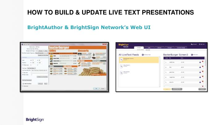 How to Build & Update Live Text Presentations