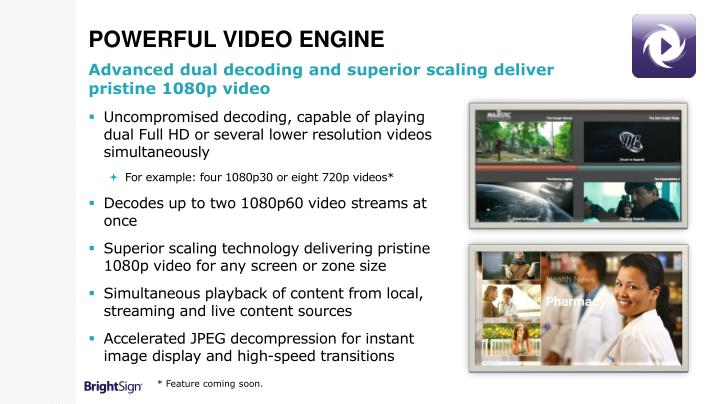 Powerful Video Engine
