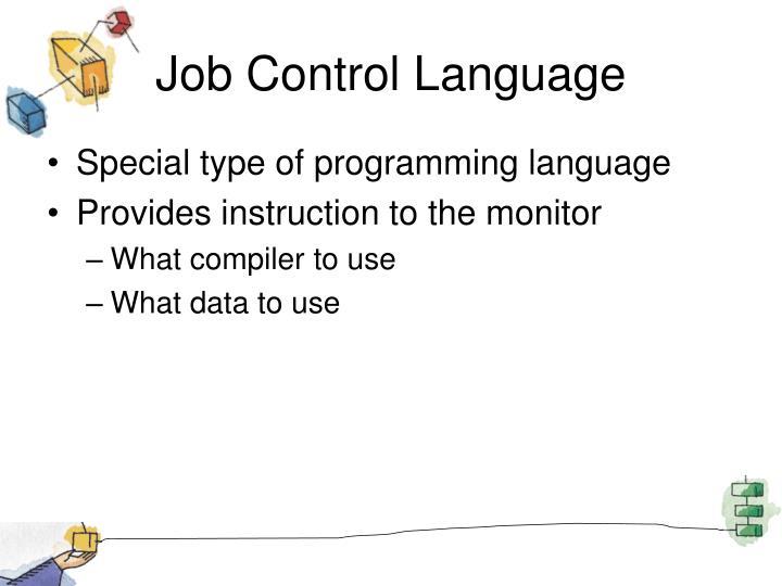 Job Control Language