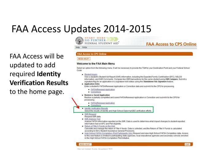 FAA Access U