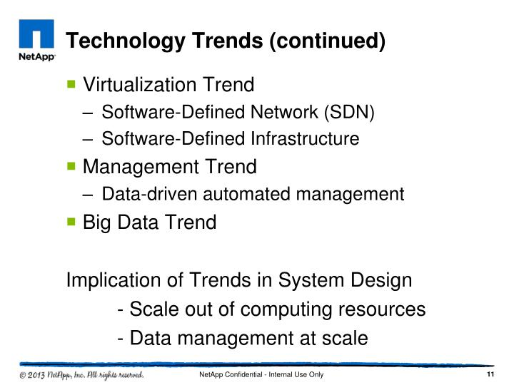 Technology Trends (continued)