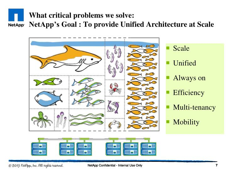 What critical problems we solve: