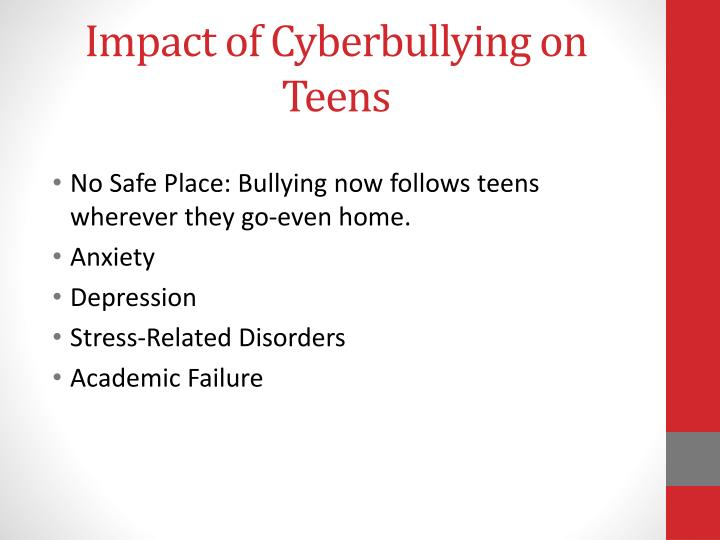 Impact of Cyberbullying on Teens