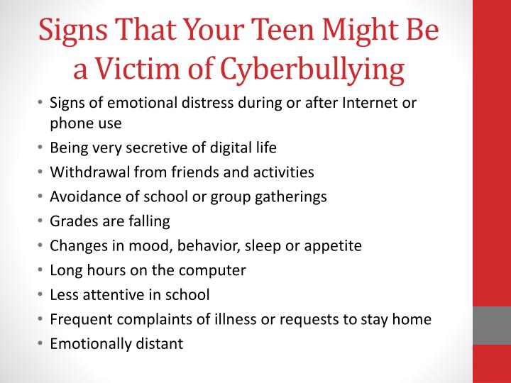 Signs That Your Teen Might Be a Victim of Cyberbullying