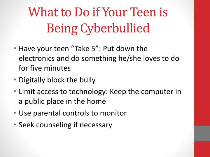 What to Do if Your Teen is Being Cyberbullied