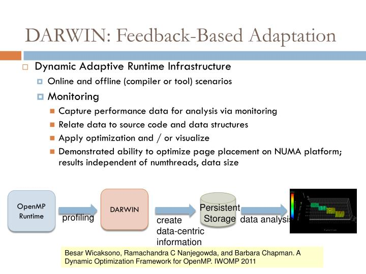 DARWIN: Feedback-Based Adaptation