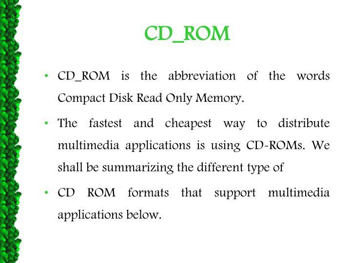 CD_ROM