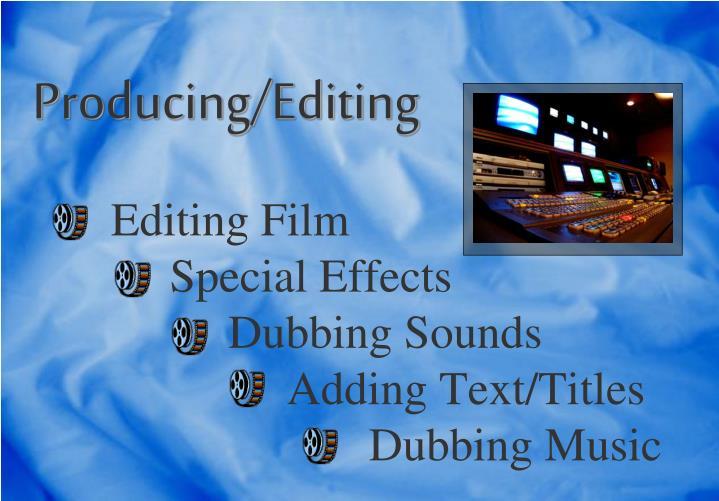 Editing Film