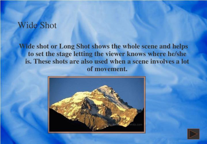 Wide Shot