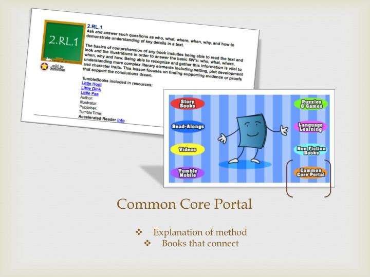 Common Core Portal