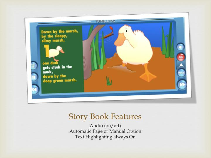 Story Book Features