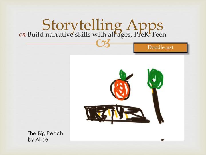 Storytelling Apps