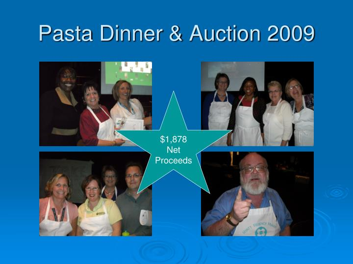 Pasta Dinner & Auction 2009