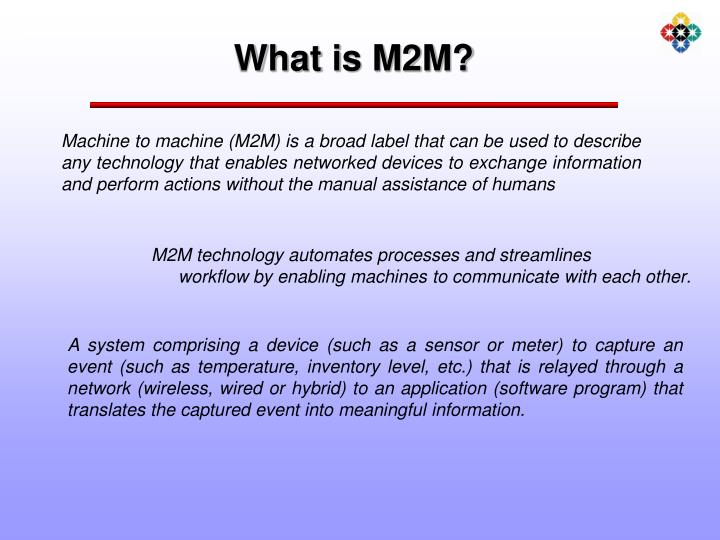 What is m2m