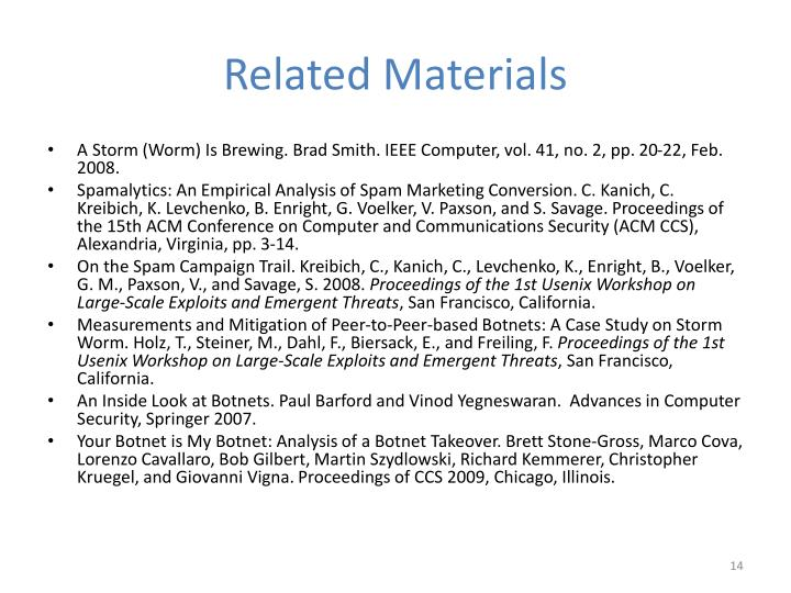 Related Materials