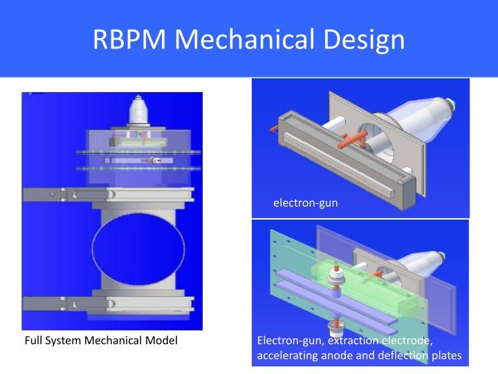 RBPM Mechanical Design