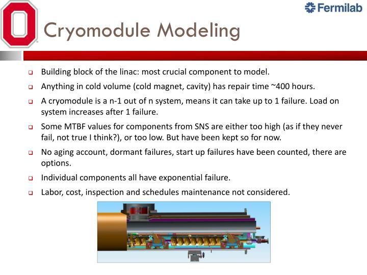Cryomodule Modeling