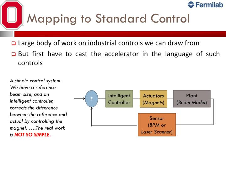 Mapping to Standard Control