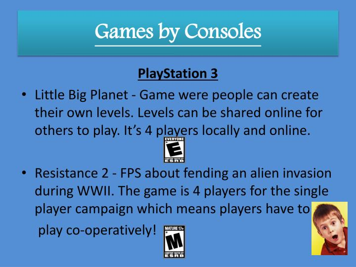 Games by Consoles