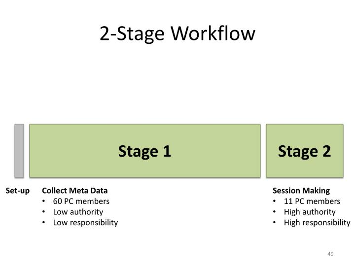 2-Stage Workflow