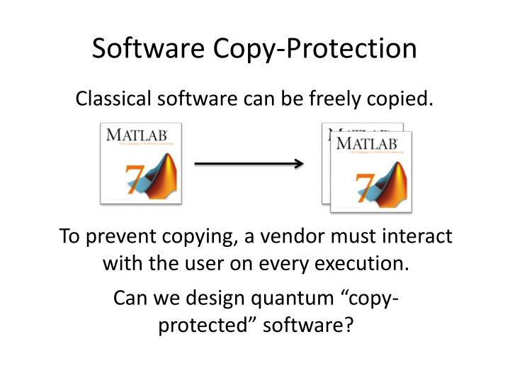 Software Copy-Protection