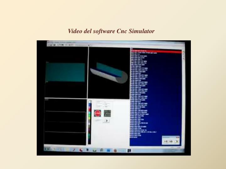 Video del software