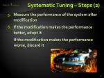 systematic tuning steps 2