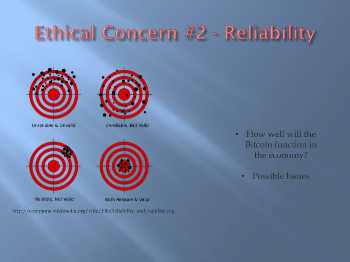 Ethical Concern #2 - Reliability