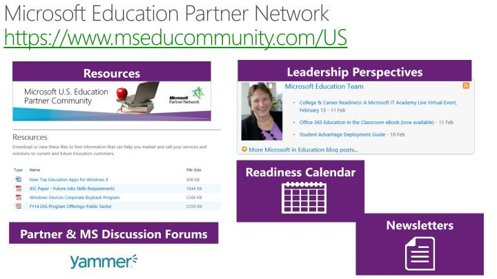 Microsoft Education Partner Network