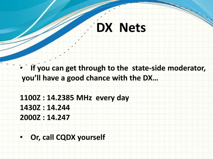 DX  Nets