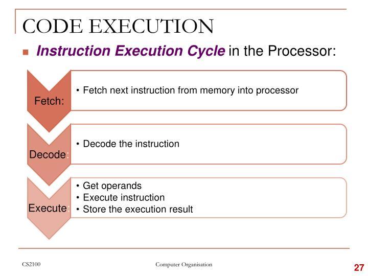 CODE EXECUTION